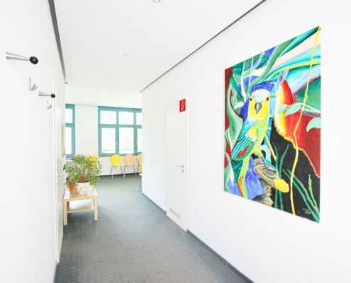 Praxisklinik Sonja Merkle - Wartezimmer/Flur